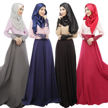 Muslim women long dress, maxi dress